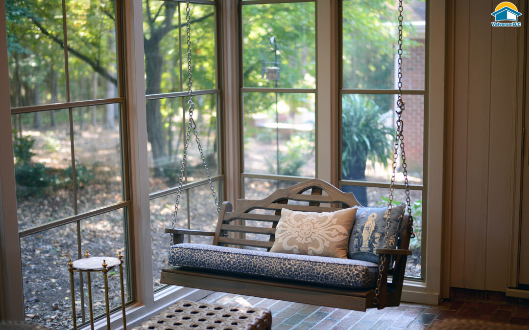 Tired of cleaning your screened porch each season?