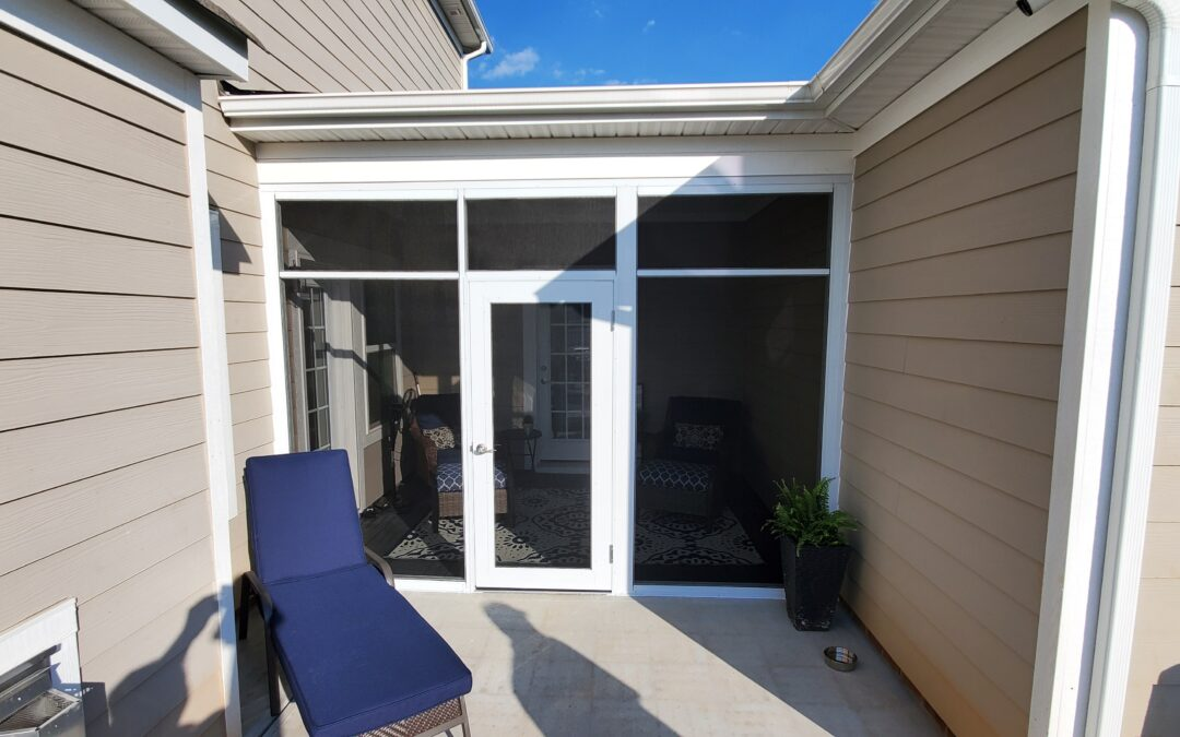Want to finish closing in a covered porch?